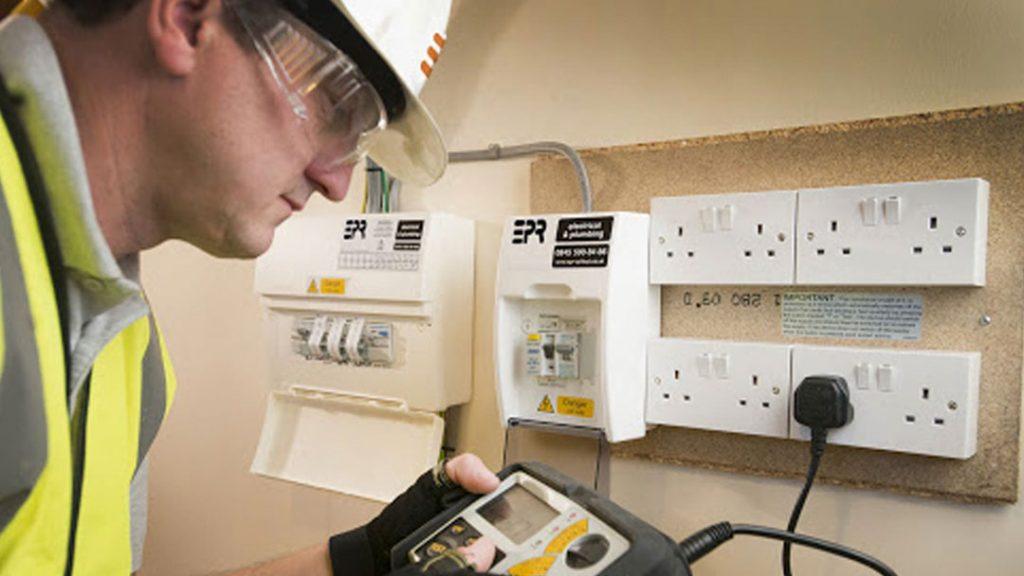 electrical testing plug socket
